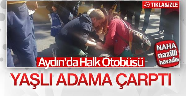 Aydın'da halk otobüsü kazası!