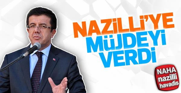 Bakan Nihat Zeybekci: Nazilli ne isterse yapmaya hazırım