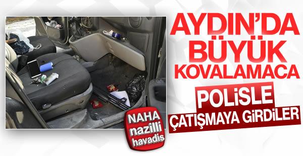 Aydın'da polisle çatıştılar!