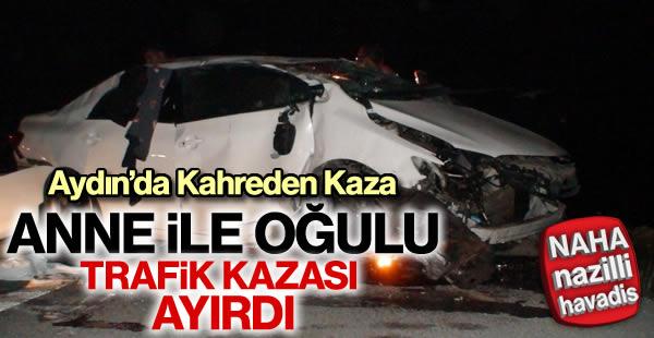 Trafik kazası ölümle sonuçlandı
