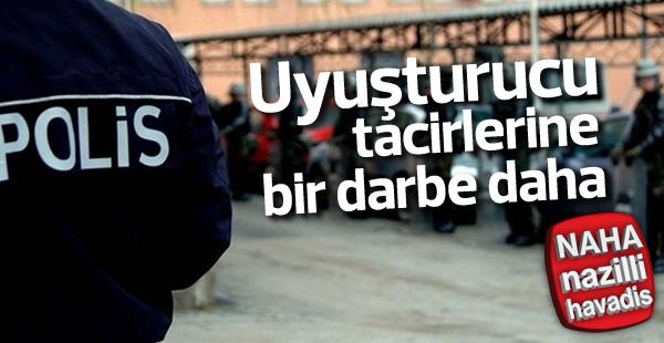 Aydın'da gece yarısı uyuşturucu operasyonu