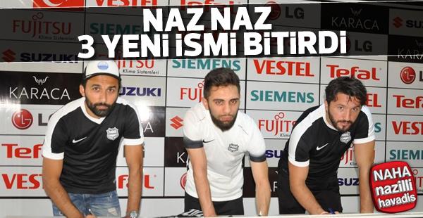 Naz-Naz'dan 3 transfer