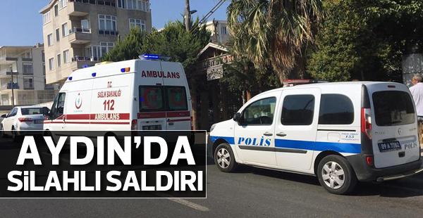 Aydın'da silahlı saldırı; 1 yaralı