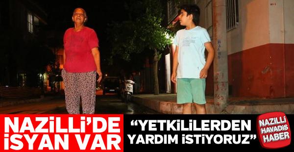 Nazilli'de halkın bitmeyen ASKİ isyanı