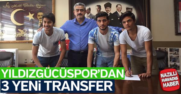 Yıldızgücüspor 3 transfer birden gerçekleştirdi