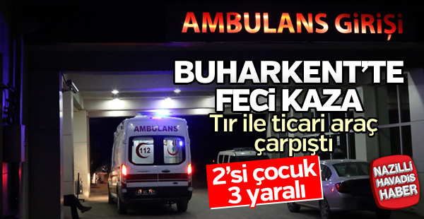 Buharkent'te feci kaza!