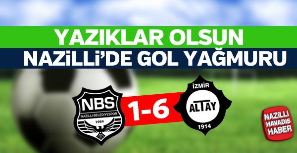 Altay, Ege Derbisi'nde gol oldu yağdı