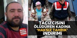 Tacizcisini öldüren kadına 'haksız tahrik' indirimi
