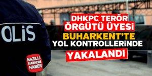 Aranan DHKP-C üyesi Buharkent'te yakalandı