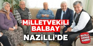 Milletvekili Balbay Nazilli'de