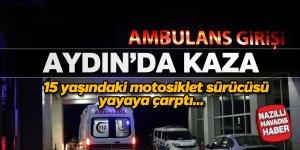 Aydın'da korkutan kaza; 2 yaralı