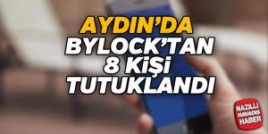 Aydın'da FETÖ'den 8 tutuklama