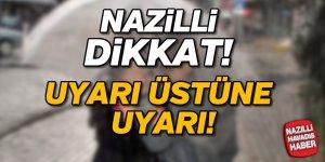 Nazilli'ye kuvvetli yağış uyarısı