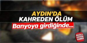 Aydın'da karbonmonoksit zehirlenmesi; 1 ölü
