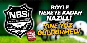 Nazilli'ye bir darbe daha Pendikspor'dan...