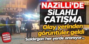 Nazilli'de silahlı kavga 1 kişi ağır yaralandı