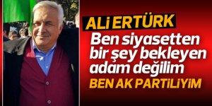 Eski İlçe Başkanı Ertürk'ten çarpıcı açıklamalar