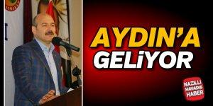Bakan Soylu, Aydın'a geliyor