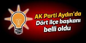 AK Parti Aydın'da dört ilçe başkanı belli oldu