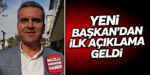 """Bülent Sayar'dan ilk açıklama:""""Hedefimiz Nazilli Belediyesi"""""""