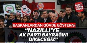 AK Partili başkanlardan birlik pozu