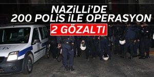 Nazilli'de Huzur 9 Operasyonu