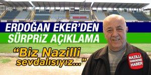 Erdoğan Eker'den sürpriz açıklama geldi