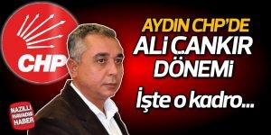 Aydın CHP'de 'Çankır' dönemi