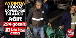 Aydın'da horoz dövüştürmenin bedeli ağır