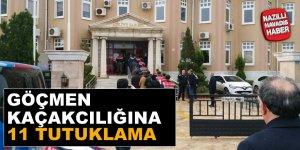 Aydın'da göçmen kaçakçılığına 11 Tutuklama