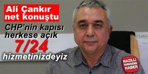 Ali Çankır'ın CHP'ye davet çağrısı