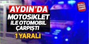 Aydın'da kaza; 1 yaralı