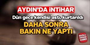Aydın'da iflas eden marangoz intihar etti