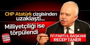 İYİ Parti İl Başkanı CHP'ye yüklendi
