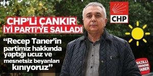 CHP'li Çankır İYİ Parti'ye salladı