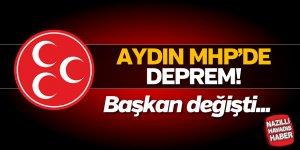 Aydın MHP'de deprem!