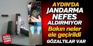 Aydın'da jandarma nefes aldırmıyor