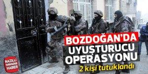 Bozdoğan'da uyuşturucu operasyonu; 2 tutuklama
