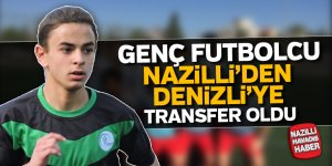Genç futbolcu Nazilli'den Denizli'ye transfer oldu