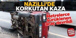 Nazilli'de trafik kazası;1 yaralı