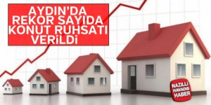 Aydın'da rekor sayıda konut ruhsatı