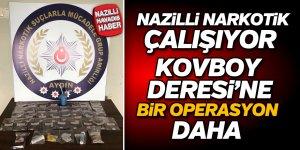Nazilli'de uyuşturucu operasyonu; 1 tutuklama