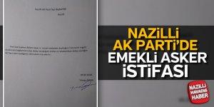 Nazilli AK Parti'de emekli asker istifası