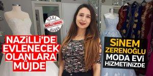 Nazilli'de 'Sinem Zerenoğlu Moda Evi' hizmete girdi