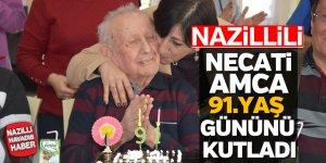 Necati Amca 91. Yaş gününü kutladı
