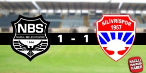 Nazilli Belediyespor : 1 - Silivrispor : 1