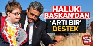 Başkan Alıcık'tan 'artı bir' destek