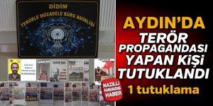 Terör örgütü propagandasına tutuklama