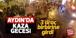 Aydın'da kaza gecesi