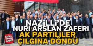 Nazilli'de Nuri Arslan Zaferi